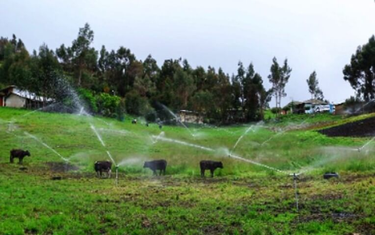 Cajamarca y Los Baños del Inca contarán con nuevos sistemas de riego tecnificado