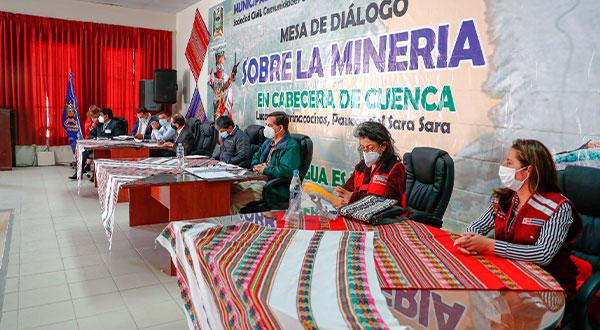 Ayacucho Minem impulsa monitoreo ambiental participativo para resolver preocupaciones de la población